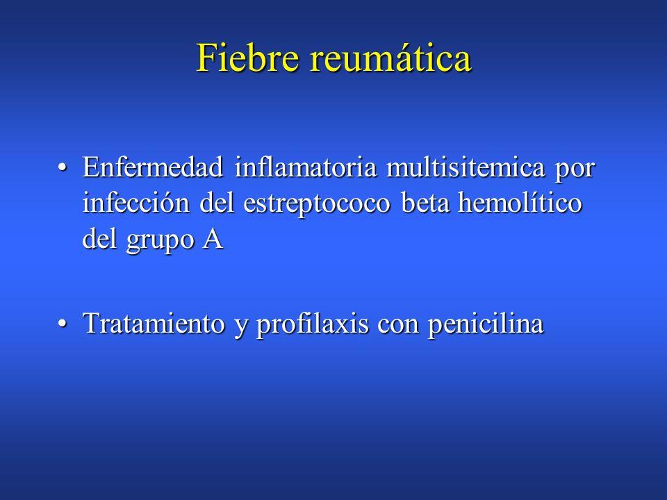 Endocarditis infecciosa Ampicilina 2 gr IM o IV + Gentamicina 1,5mg/Kg/ 30 minutos antes, 8 h despues Ampicilina 1gr IM/IV o Amoxicilina oral 1grAmpic