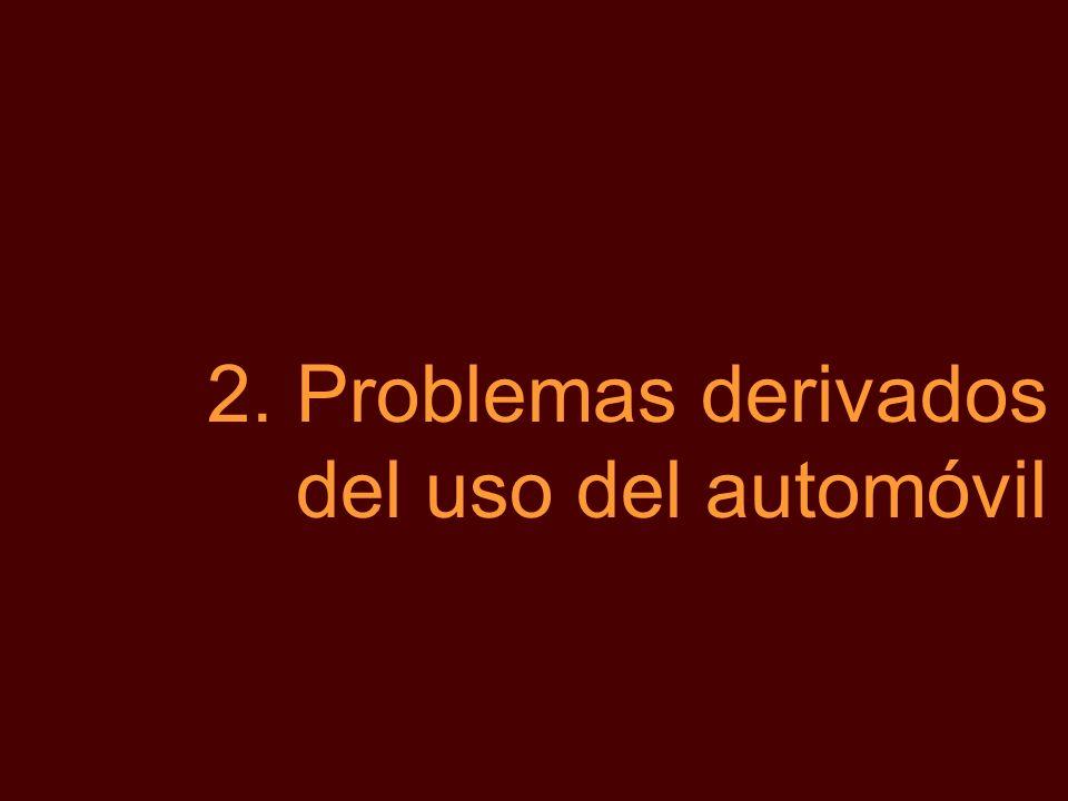 2.Problemas derivados del uso del automóvil