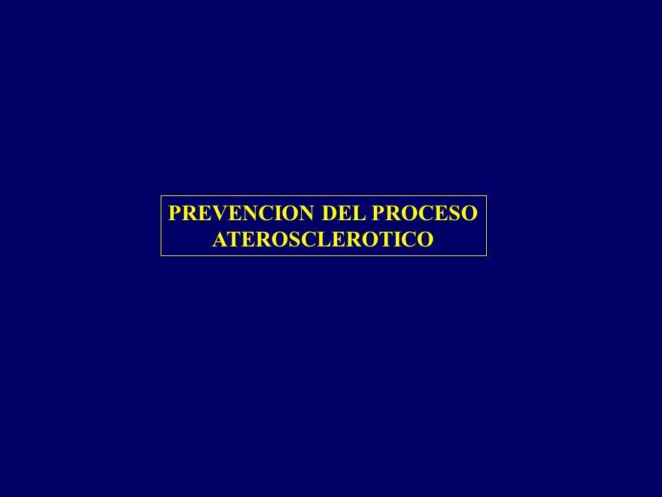 PREVENCION DEL PROCESO ATEROSCLEROTICO