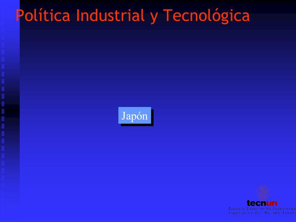 Política Industrial y Tecnológica Japón