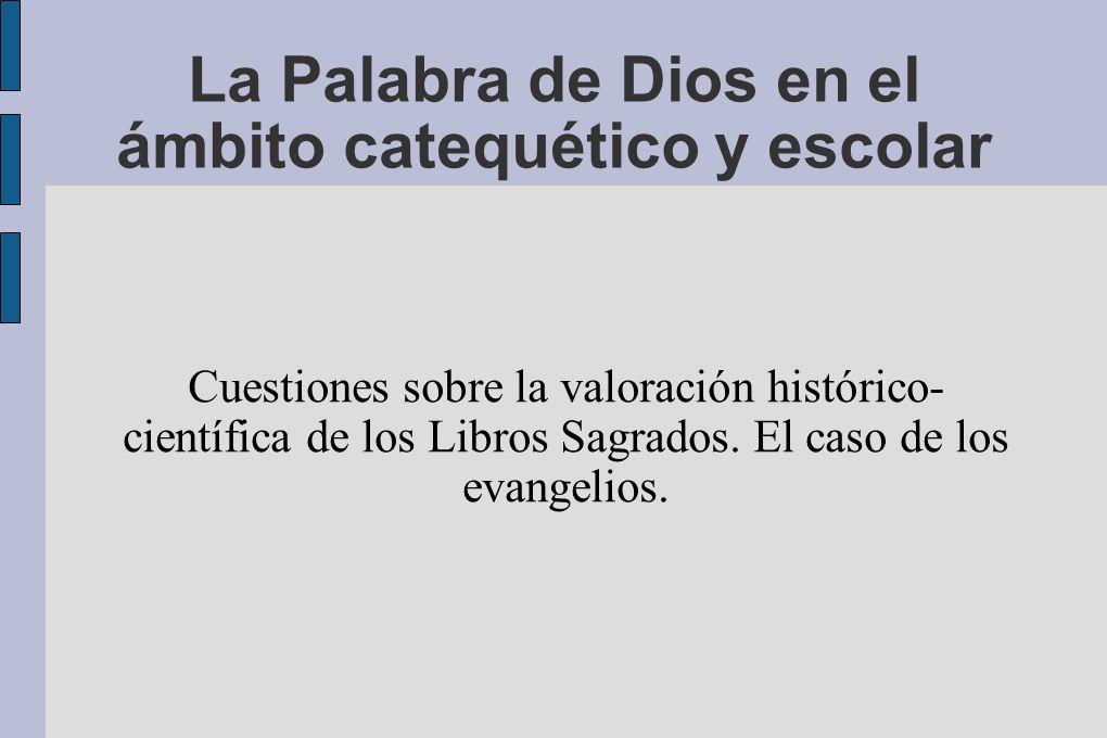 Creadores de imagen (de Jesús) en la cultura Entre el fundamentalismo y la sospecha...
