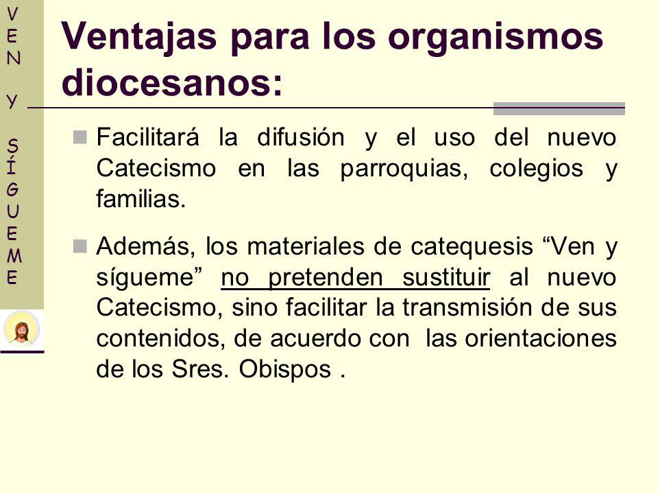 Facilitará la difusión y el uso del nuevo Catecismo en las parroquias, colegios y familias. Además, los materiales de catequesis Ven y sígueme no pret