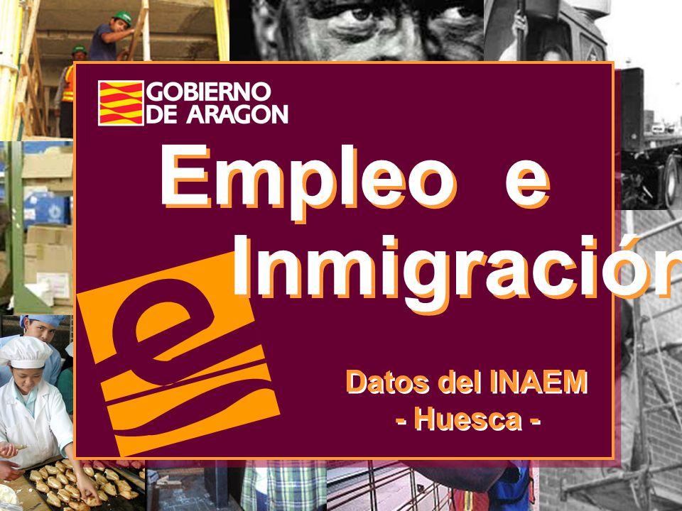 Empleo e Inmigración Datos del INAEM - Huesca - Datos del INAEM - Huesca -
