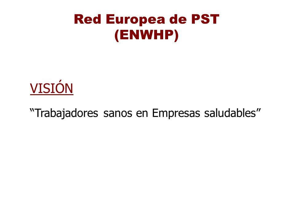 Red Europea de PST (ENWHP) VISIÓN Trabajadores sanos en Empresas saludables