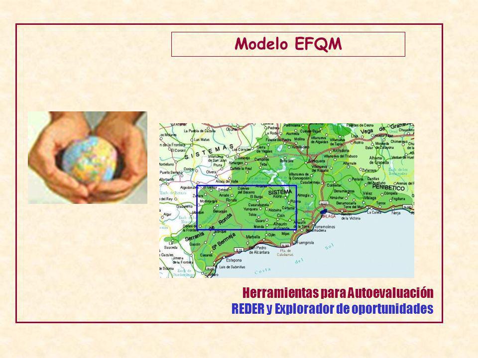 Modelo EFQM Herramientas para Autoevaluación REDER y Explorador de oportunidades