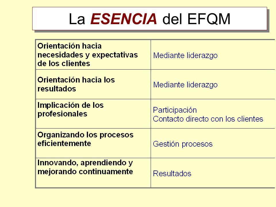 La ESENCIA del EFQM