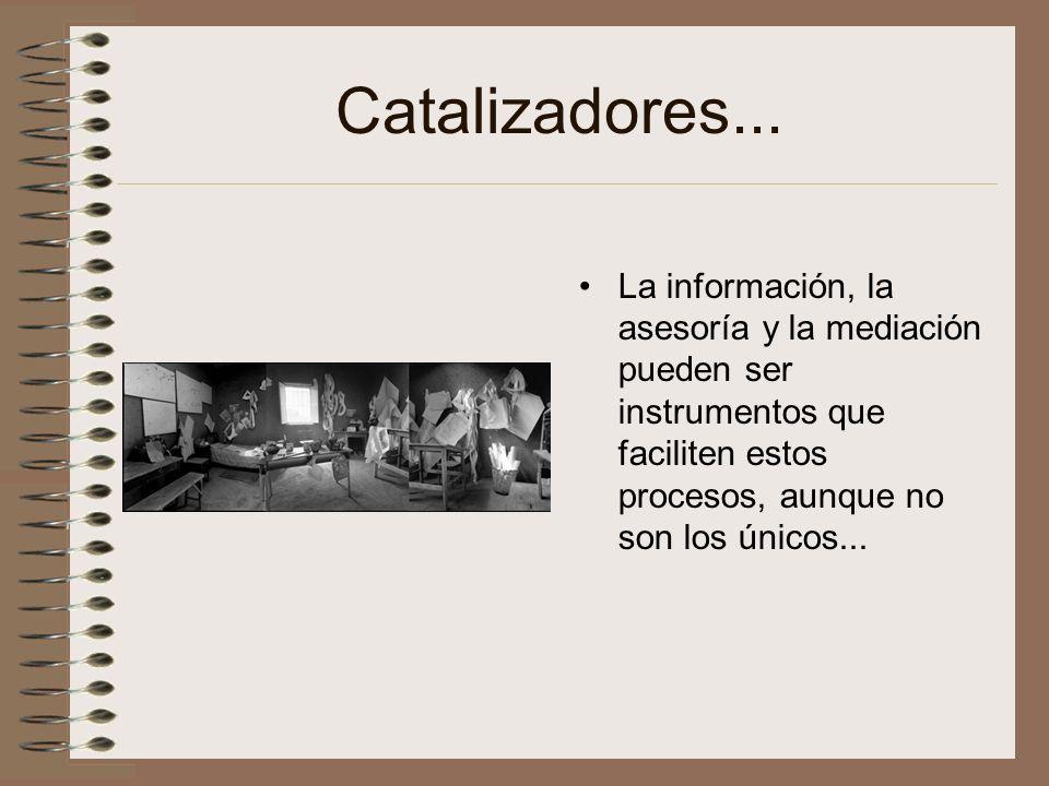 Catalizadores...