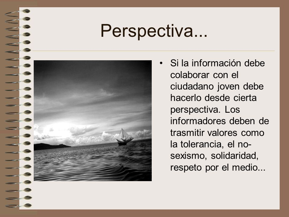 Perspectiva...