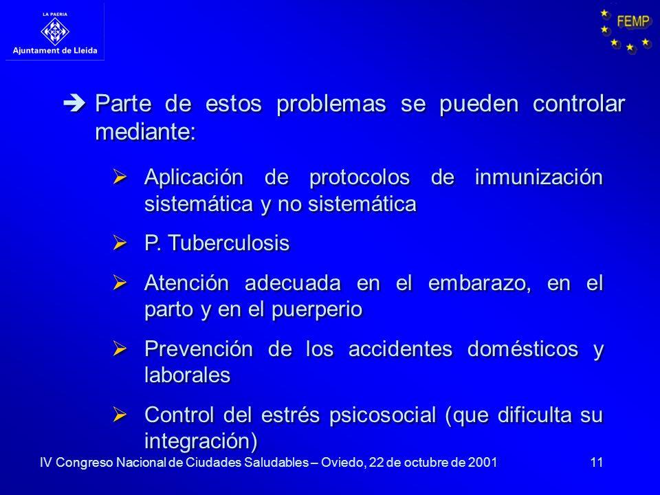 11 Aplicación de protocolos de inmunización sistemática y no sistemática P. Tuberculosis Atención adecuada en el embarazo, en el parto y en el puerper
