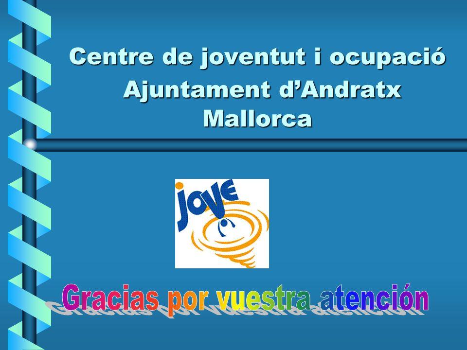 Centre de joventut i ocupació Ajuntament dAndratx Mallorca