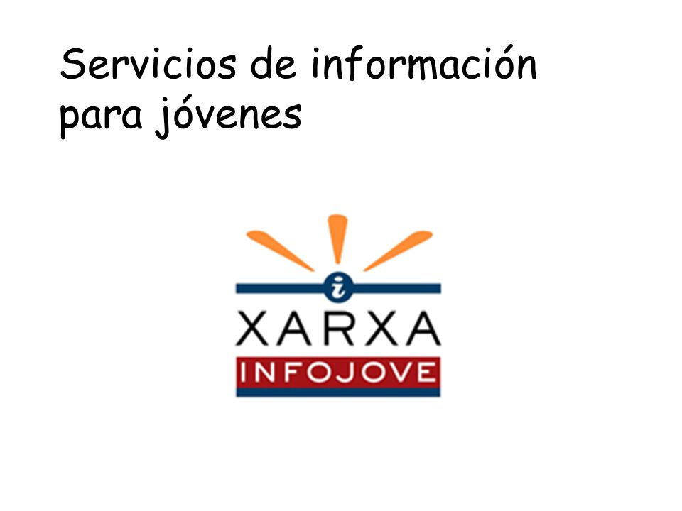 Servicios de información para jóvenes