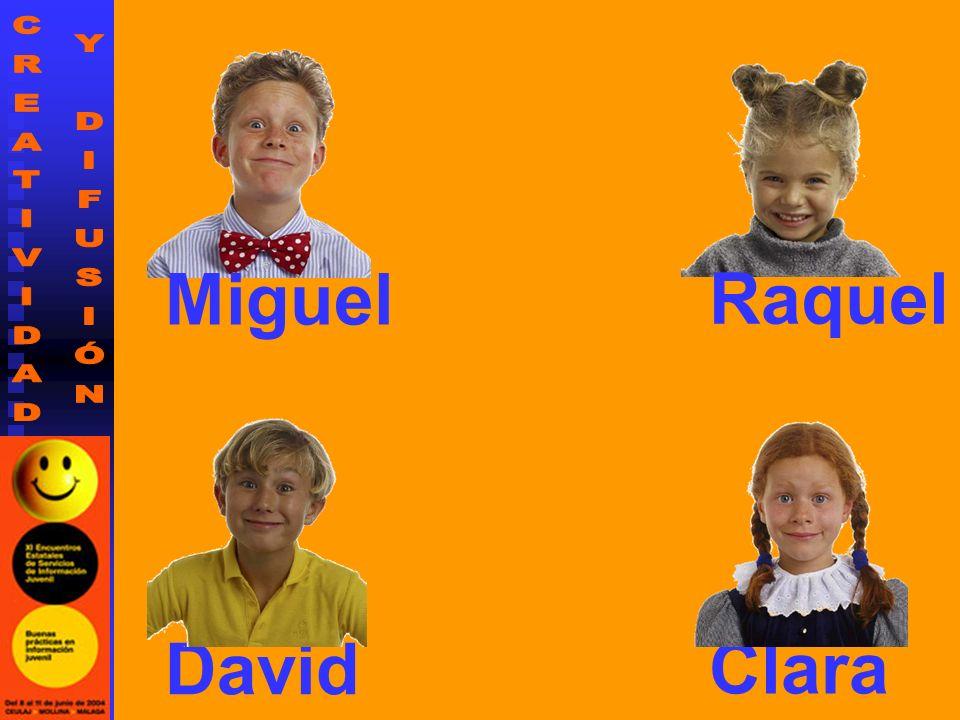 Miguel Raquel David Clara