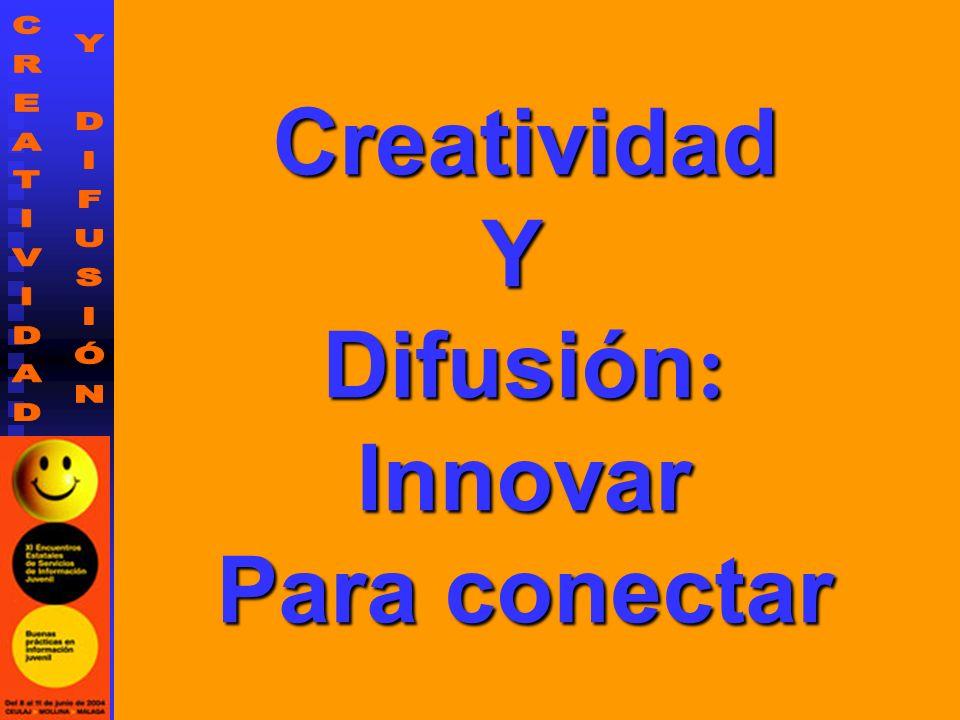 ¿Yo quisiera saber algo más sobre el tema de la creatividad y la difusión?