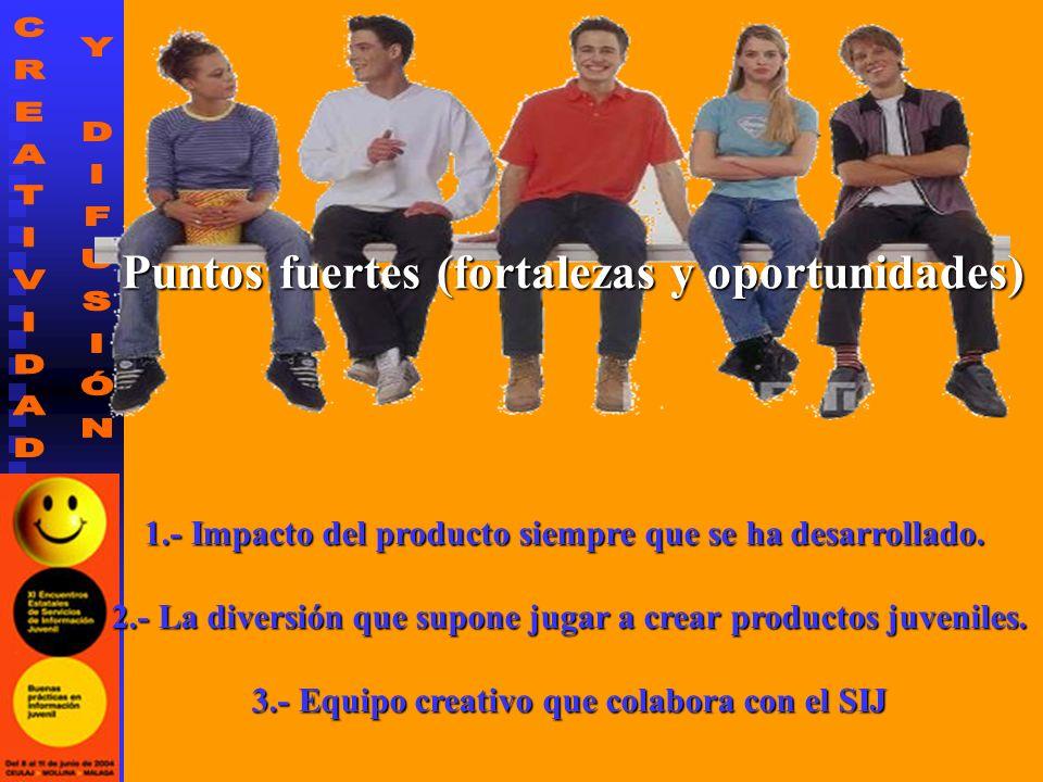 1.- Impacto del producto siempre que se ha desarrollado.