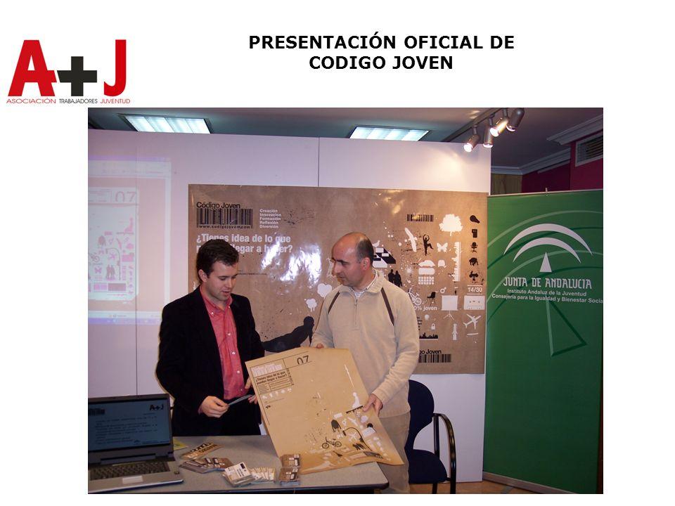 PRESENTACIÓN OFICIAL DE CODIGO JOVEN