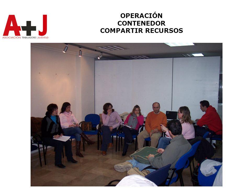OPERACIÓN CONTENEDOR COMPARTIR RECURSOS