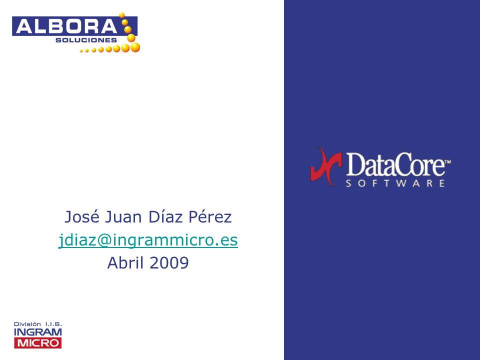 José Juan Díaz Pérez jdiaz@ingrammicro.es Abril 2009
