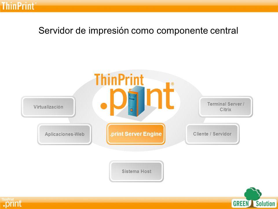 ¿Por qué es recomendado la utilización de un Printserver centralizado.