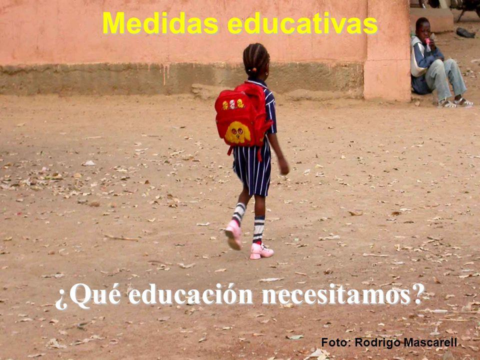 Medidas educativas Foto: Rodrigo Mascarell ¿Qué educación necesitamos