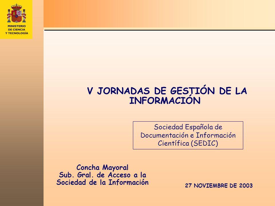 ACTUACIONES PARA EL DESARROLLO DE LA SOCIEDAD DE LA INFORMACIÓN EN ESPAÑA España.es Área de Tecnologías de la Sociedad de la Información ( Plan Nacional I+D+I 2004-2007) Subprograma Nacional de e-Contenidos Ejemplos Forintel