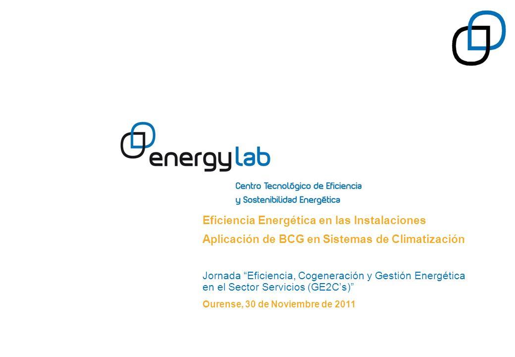 Eficiencia Energética en las Instalaciones Aplicación de BCG en Sistemas de Climatización Jornada Eficiencia, Cogeneración y Gestión Energética en el