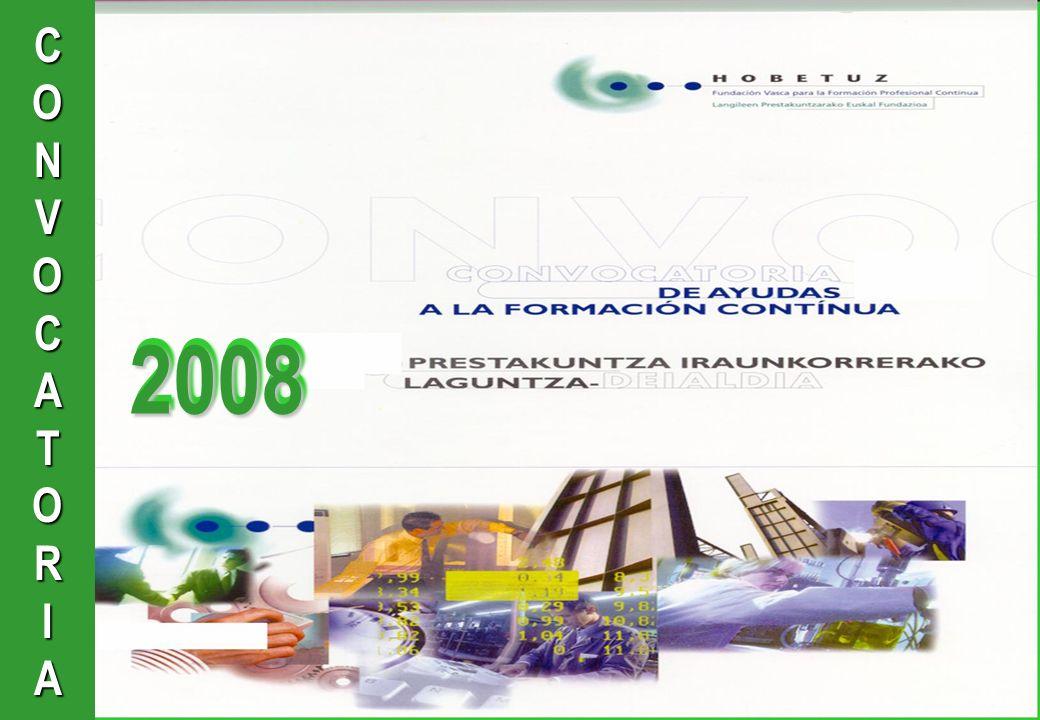 CONVOCATORIA20082008