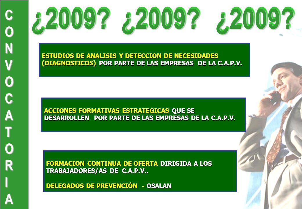 ACCIONES FORMATIVAS ESTRATEGICAS QUE SE DESARROLLEN POR PARTE DE LAS EMPRESAS DE LA C.A.P.V.