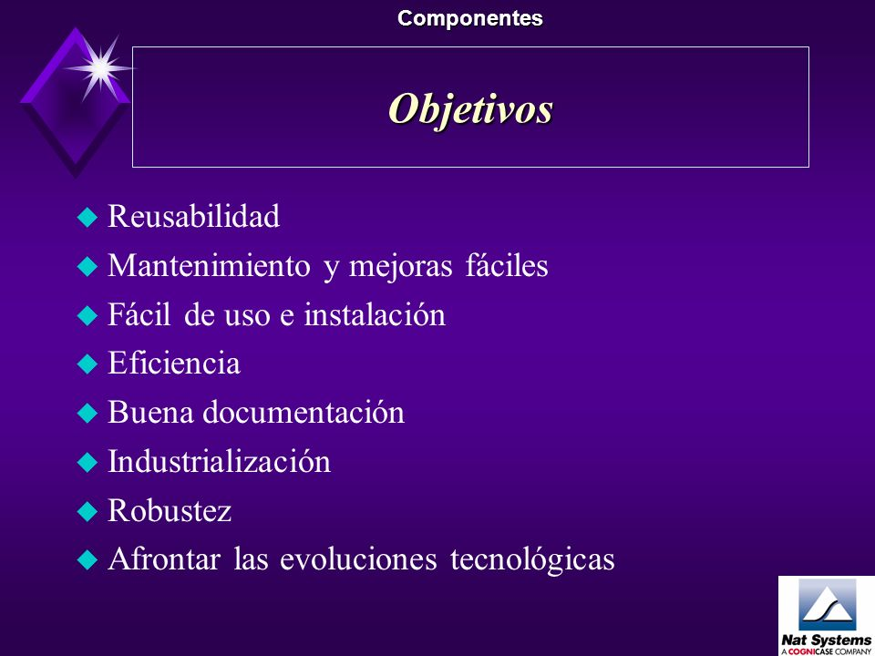 El modelo arquitectural Componentes Aplicación ModelosCalendarioCustom Controls SHELL Motor de impresión Motor de mensajes Motor de Presentación PR-50