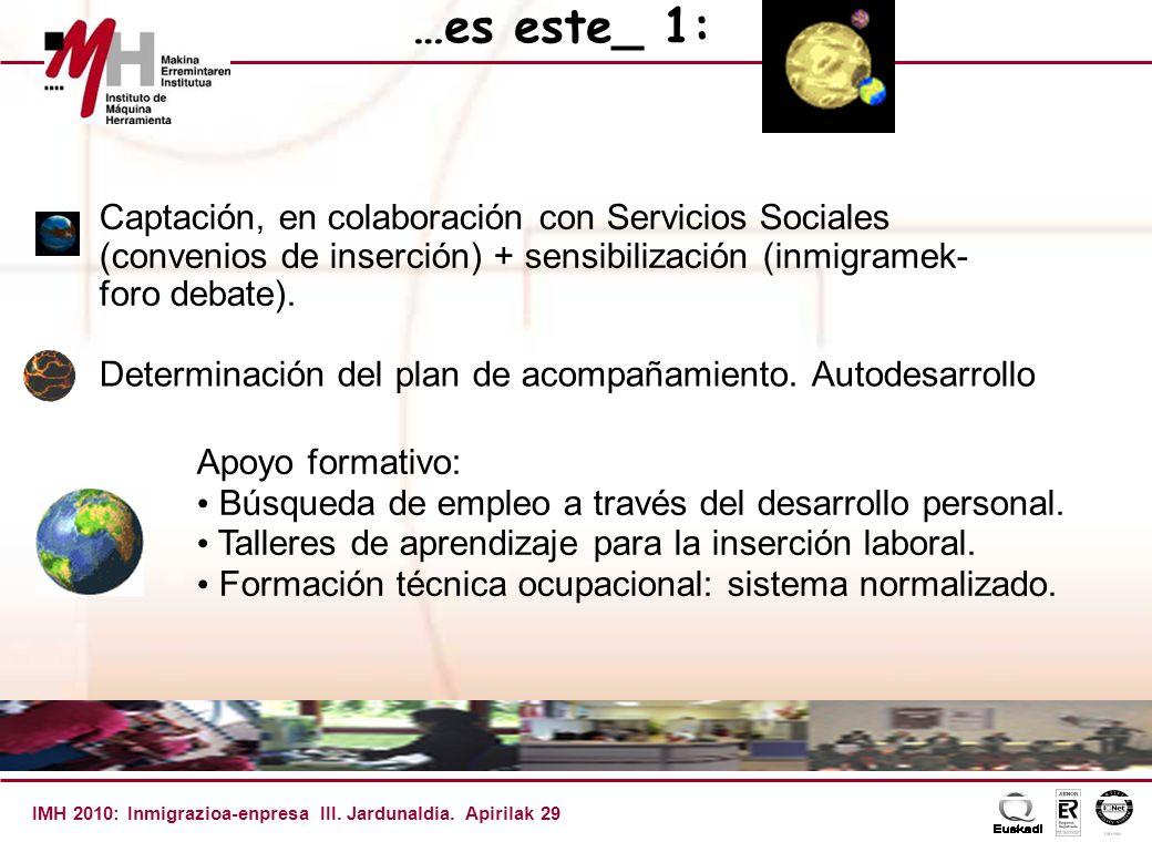 IMH 2010: Inmigrazioa-enpresa III.Jardunaldia.