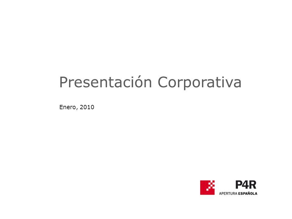 Presentación Corporativa Enero, 2010