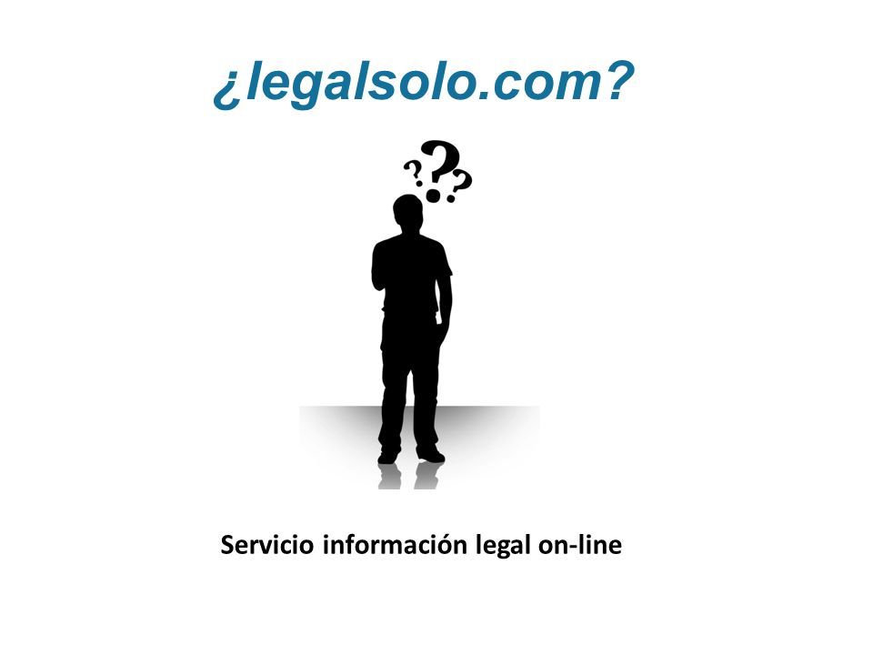 ¿legalsolo.com? Servicio información legal on-line
