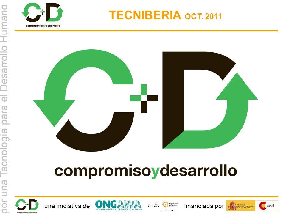 una iniciativa definanciada por Asociación para el Desarrollo antes TECNIBERIA OCT. 2011