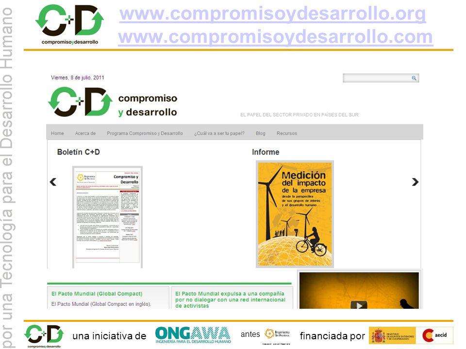 una iniciativa definanciada por Asociación para el Desarrollo antes www.compromisoydesarrollo.org www.compromisoydesarrollo.org www.compromisoydesarrollo.comwww.compromisoydesarrollo.com