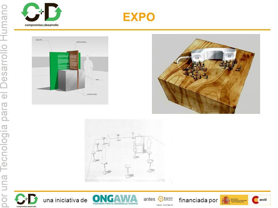 una iniciativa definanciada por Asociación para el Desarrollo antes EXPO