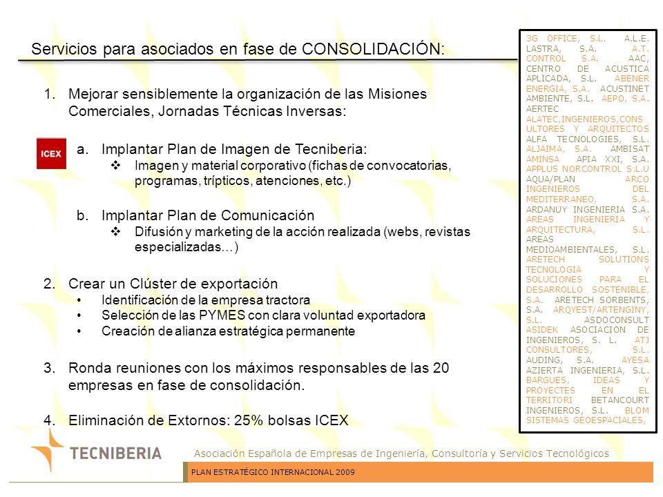 Asociación Española de Empresas de Ingeniería, Consultoría y Servicios Tecnológicos 3G OFFICE, S.L. A.L.E. LASTRA, S.A. A.T. CONTROL S.A. AAC, CENTRO