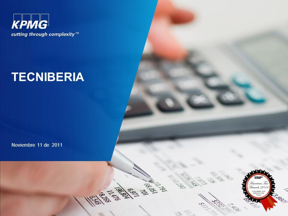 ©2010 KPMG Impuestos y Servicios Legales Ltda., sociedad colombiana de responsabilidad limitada y firma miembro de la red de firmas miembro independientes de KPMG afiliadas a KPMG International Cooperative (KPMG International), una entidad suiza.
