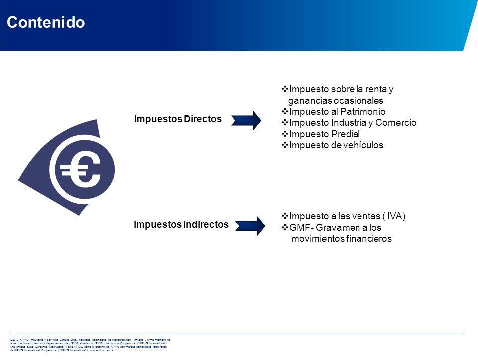 Aspectos fiscales generales de las compañías en Colombia Aspectos fiscales generales de las compañías en Colombia