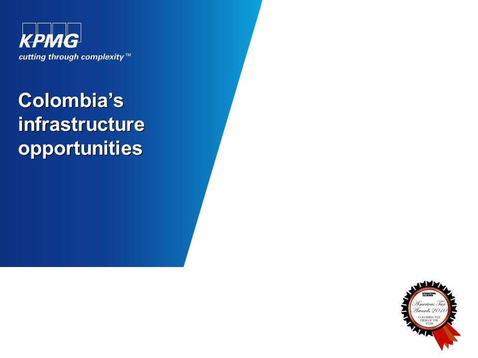 Colombias infrastructure opportunities