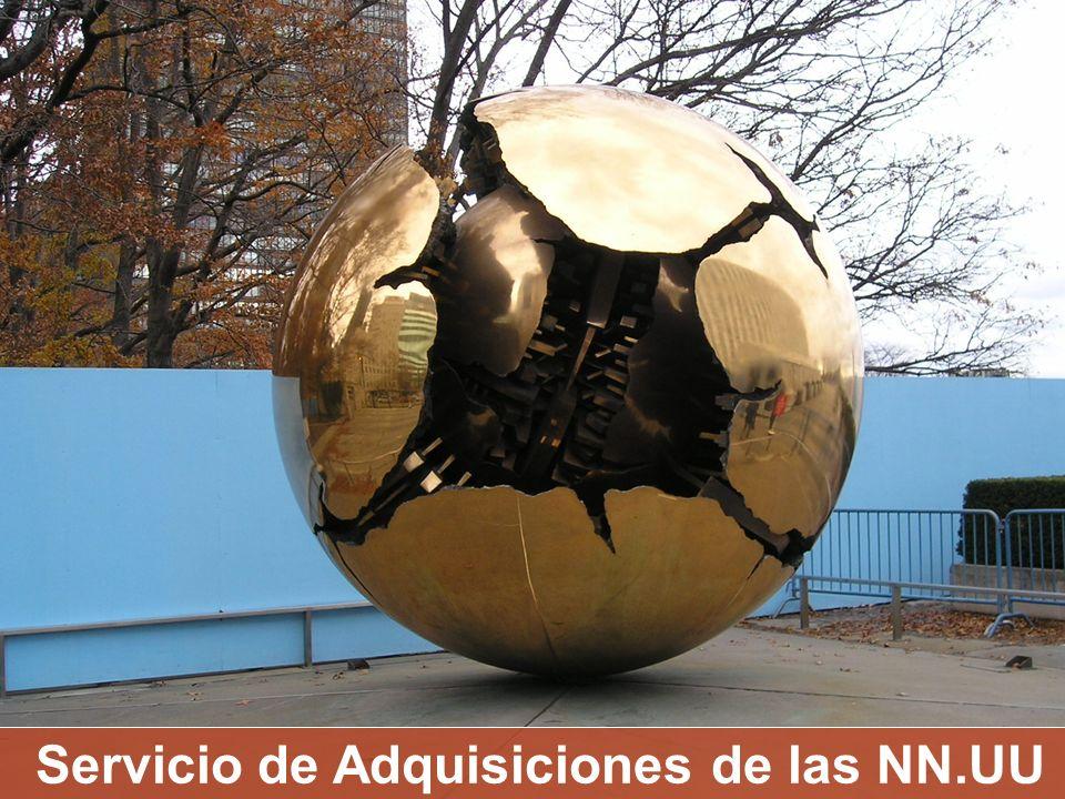 Servicio de Adquisiciones de las NN.UU