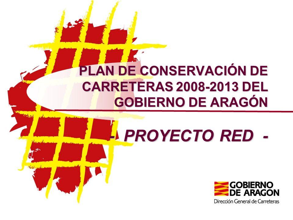 UNA POSIBLE SOLUCIÓN AL PROBLEMA DE LA FINANCIACIÓN El proyecto RED se desarrolló durante el otoño de 2007, siendo presentado por el Presidente del Gobierno de Aragón en Enero de 2008.