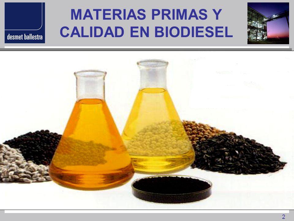 33 CONCLUSIONES Sustitución del Diesel Fósil por Biodiesel - Cambia la matriz energética - Reduce la dependencia de los países productores de petróleo - Seguridad estratégica de suministro ante conflictos políticos - Reto socio económico para los países con bajo nivel de desarrollo - Repoblación y puesta en explotación de tierras