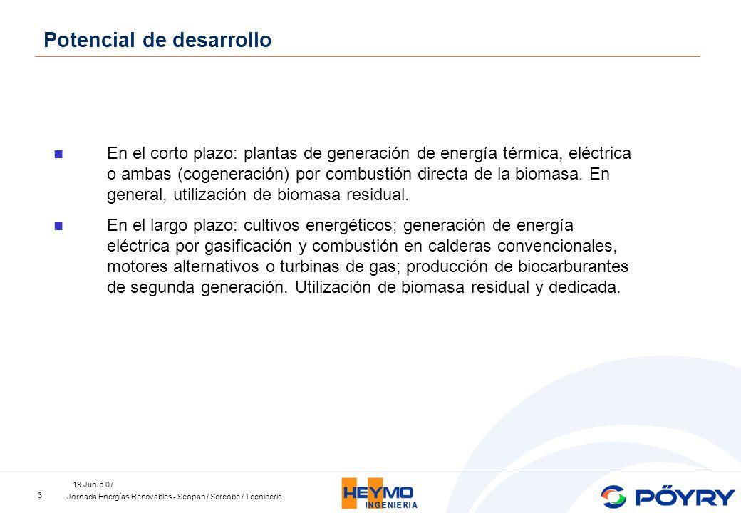 Jornada Energías Renovables - Seopan / Sercobe / Tecniberia 19 Junio 07 4 Renovables 100%.