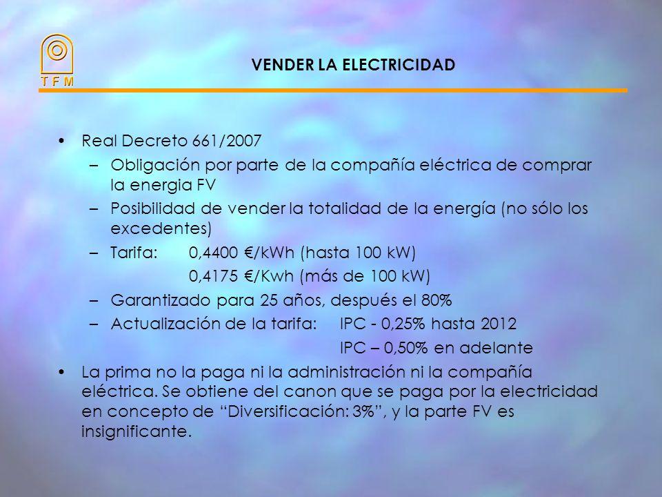 ENERGÍA ELÉCTRICA (kWh) INGRESOS ECONÓMICOS (EUROS) VENTA DE LA ENERGIA ELÈCTRICA LA ENERGÍA ELÉCTRICA SE TRANSFORMARÁ EN LOS INGRESOS ECONÓMICOS PREV