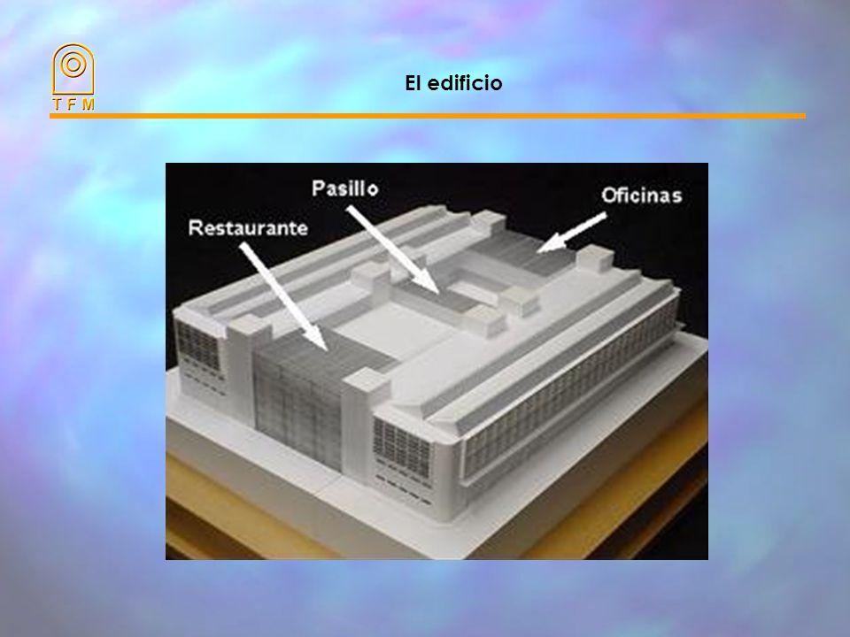 Aspectos más destacables El edificio dispone de la mayor cubierta acristalada ventilada y fotovoltaica de España. La tecnología se desarrolló a partir