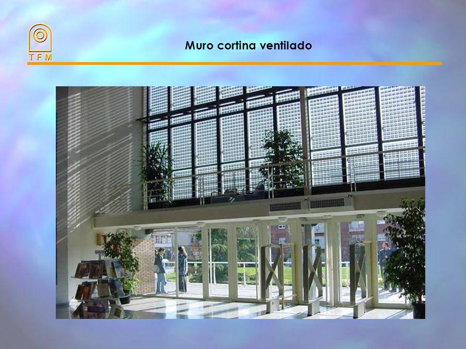 Muro cortina ventilado