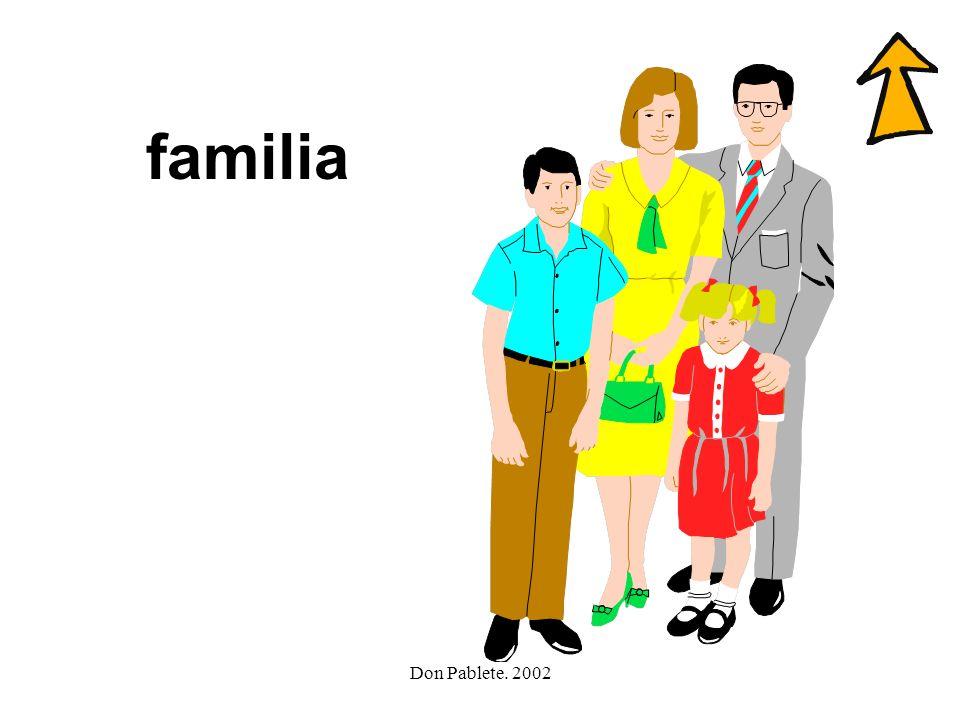 Don Pablete. 2002 teléfono fuego foca familia flauta