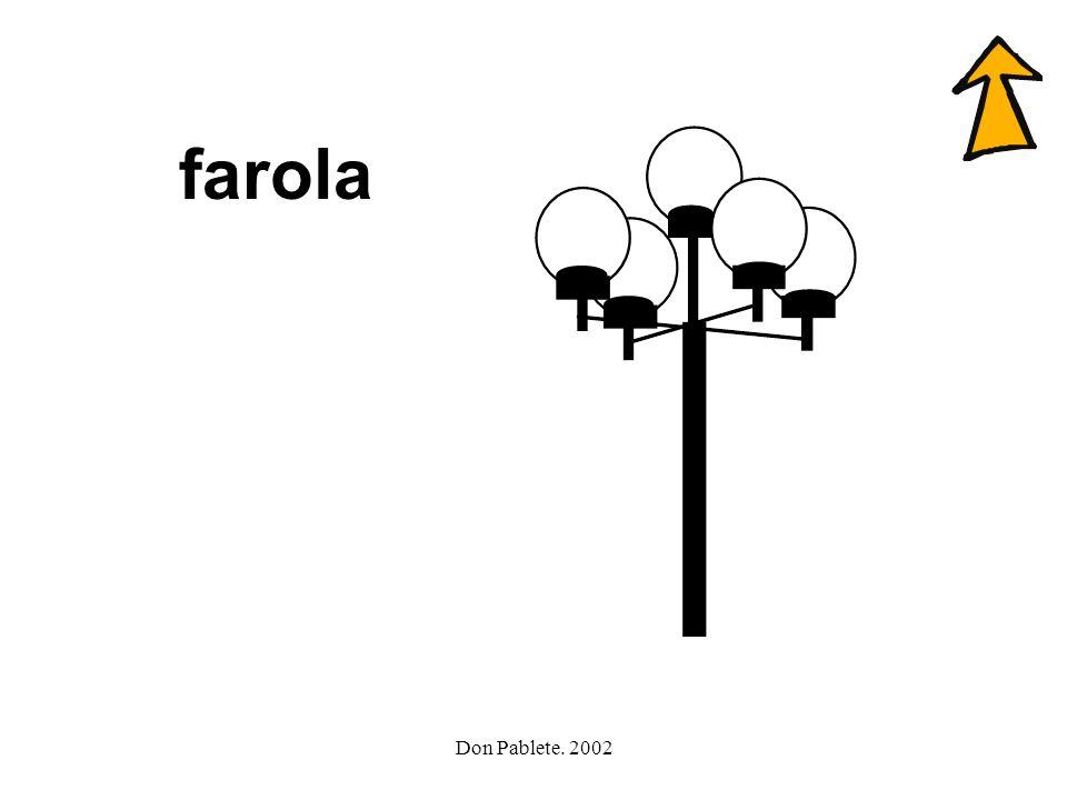 Don Pablete. 2002 teléfono farola foca tele flauta