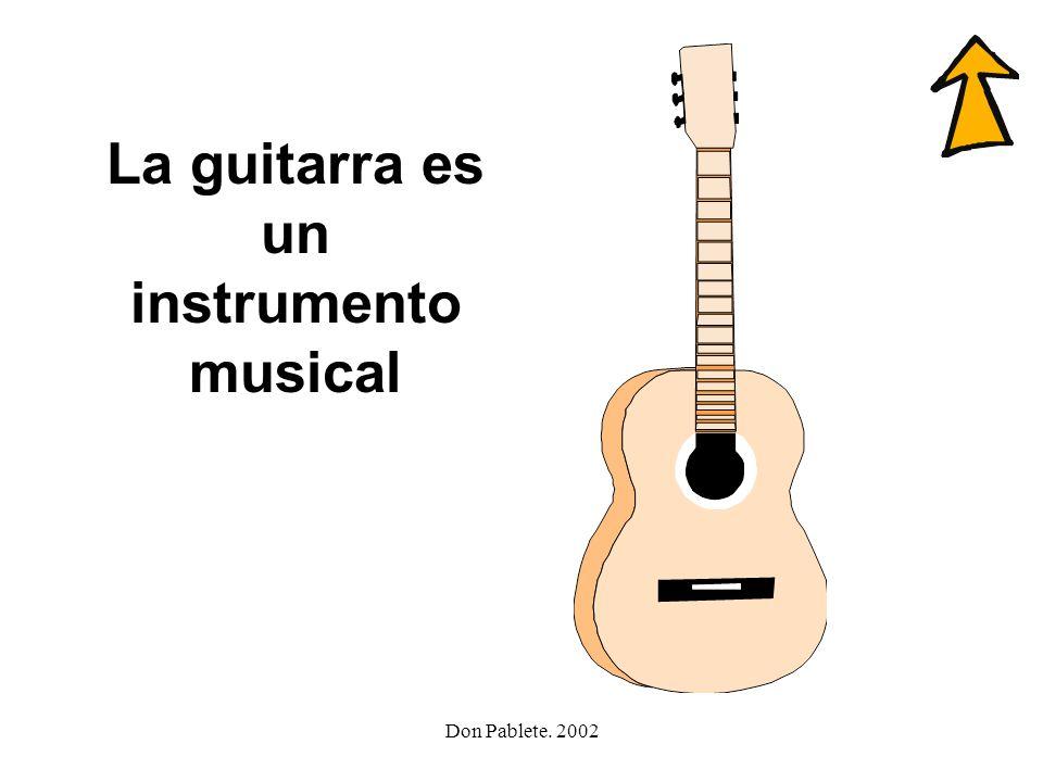 Don Pablete. 2002 amigo colegio golpe garbanzo guitarra