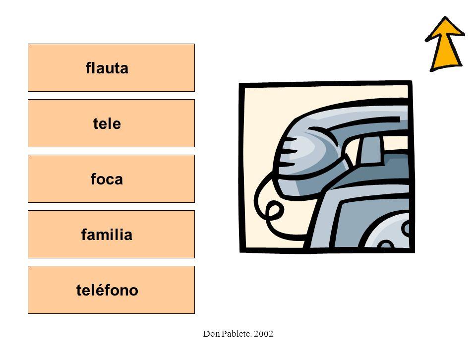 Don Pablete. 2002 Letra f jugarsalir