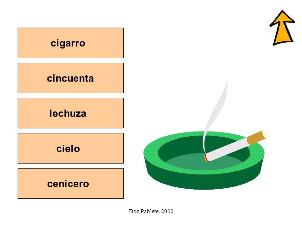 Don Pablete. 2002 Letra -rr- jugarsalir